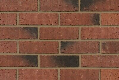 400 Per Pack, Ibstock Priory Weathered Red 65mm, Wall, Extension, Bricks • 366.21£