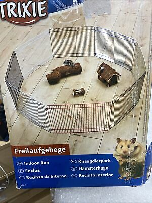 *new Indoor Hamster Gerbil Mouse Metal Play Pen Run 8 Panels Exercise Area 6247  • 15.99£