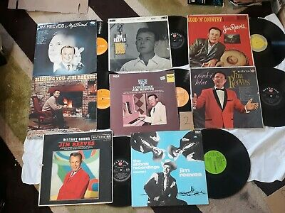 Jim Reeves 12 Inch Records By 8 • 6.50£
