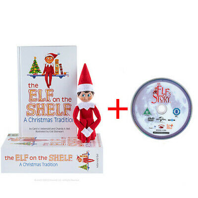 Official Elf On The Shelf Christmas Tradition + An Elf's Story DVD (Disc Only ) • 21.95£