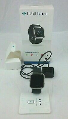 AU135.23 • Buy Fitbit Blaze - Black - Band / Charger / Box - Size Large Strap - Boxed - Used