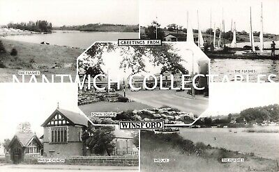 Cheshire Winsford Five Real Photo Views • 5£