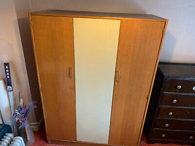 1960s G Plan Gentleman's Wardrobe • 70£