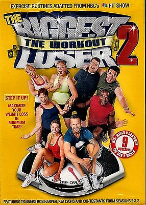 New DVD - The Biggest Loser Workout, Vol. 2 - FITNESS - Bob Harper And Kim Lyons • 5.57£