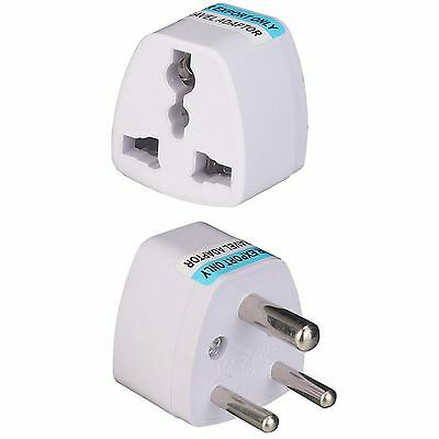 AU1.77 • Buy Universal Travel Outlet 3 Pin Converter Adapter South Africa India AC Power Plug