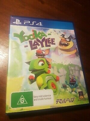AU21.40 • Buy Yooka-Laylee (PlayStation 4, 2017)