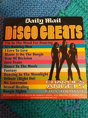 Daily Mail - Disco Greats / Charlie's Angels Full Throttle CD • 0.99£