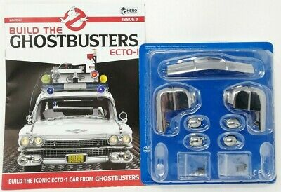 Eaglemoss Build The Ghostbusters Ecto 1 - Magazine / Model Parts - New • 10.95£
