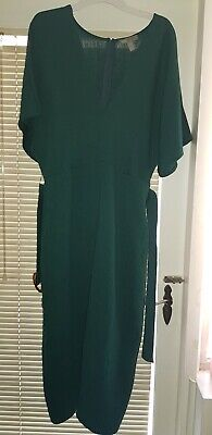 AU29.50 • Buy ASOS Teal Green Midi Dress - Size 16