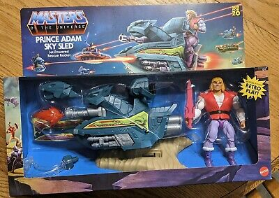 $69.99 • Buy MATTEL 2020 Masters Of The Universe Origins Prince Adam Figure & Sky Sled NEW!!!