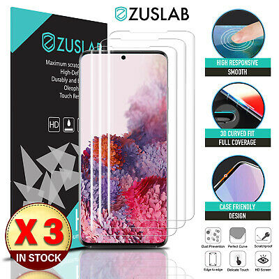 AU8.95 • Buy Galaxy S20 FE 5G ZUSLAB Full Cover Hydrogel Screen Protector For Samsung