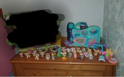 Littlest Pet Shop Bundle. Playsets. Carrycase. Figures And Accessories  • 50£