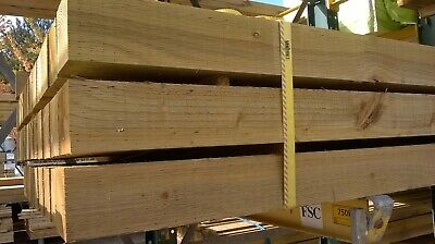 New Sawn Incised Treated Timber Post 3x3 & 4x4 Delivery Only • 12£