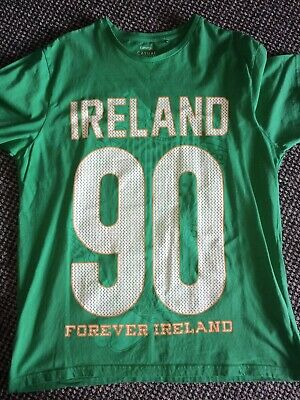 Mens Large T Shirt, Ireland, Green, St. Patrick's Day, George • 3£