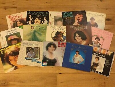 Lena Martell Record Collection X15 LPs • 10£