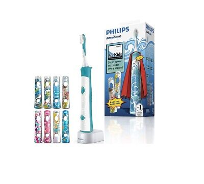 AU117.38 • Buy Philips Sonicare For Kids Sonic Electric Toothbrush HX6311/07
