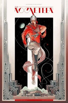 The Rocketeer (Variant) Poster By Martin Ansin Mondo Artist Proof XX/40 • 500£