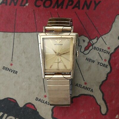 $ CDN356.78 • Buy Vintage WITTNAUER By Longines Vintage Watch Asymmetrical Fancy Case Running Good