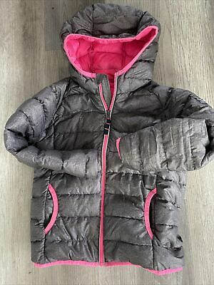 Girls Tog 24 All Terrain Feather Down Coat Age 7-8 • 4£