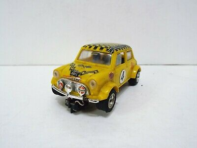 Scalextric C7 Mini Rally In Yellow R/n4 Excellent Unboxed (wm837) • 22.99£
