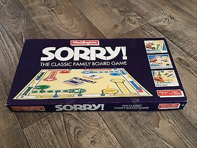 Sorry Board Game By Waddingtons 1988 - Complete • 19.99£