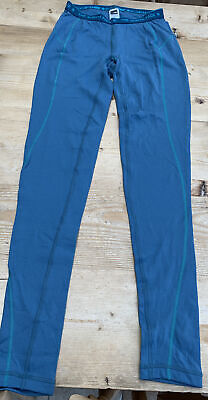 Ladies The North Face Blue Thermal Base Layer Leggings Size S • 4.70£