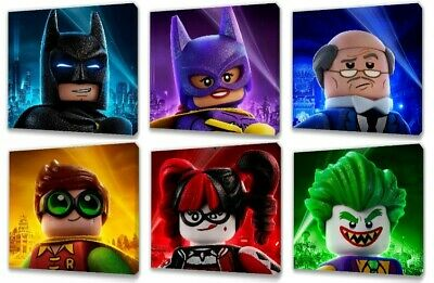 £19.49 • Buy Lego Batman Movie Characters Canvas Picture 6 Designs To Choose From