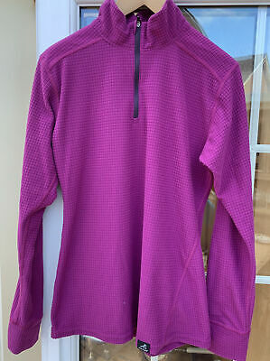 Ladies Paramo Grid  Thermal Base Layer Long Sleeved Top  Size M • 15£