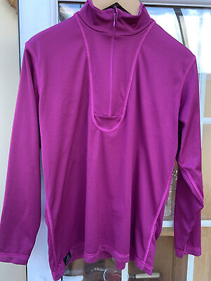 Ladies Paramo Reversible Thermal Base Layer Long Sleeved Top  Size M • 6.50£