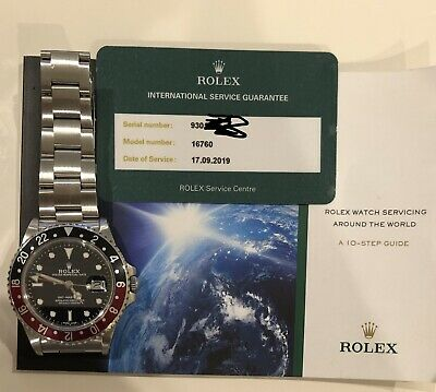 $ CDN17877.84 • Buy 1986 ROLEX GMT Master 16760 Fatlady