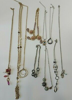 $ CDN39 • Buy Lia Sophia Fashion Necklace Lot, Great Condition, Mixed Metal,Glass,Rhinestones