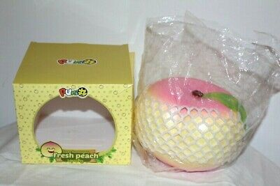 AU51 • Buy Puni Maru Scented Super Humongous Fresh Peach Slow Rise Squishy Toy Squishies