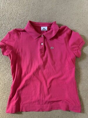 Womens Lacoste Polo Shirt Size 46 • 5£