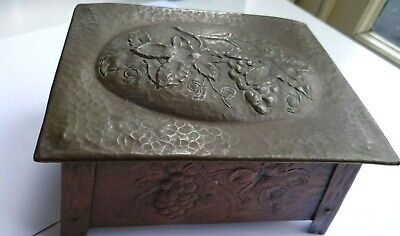 £57 • Buy Vintage Arts And Crafts Style Metal Box