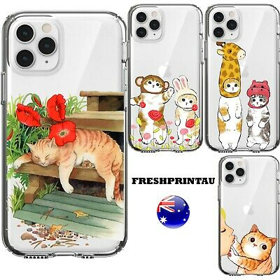 AU15.50 • Buy Silicone Case Cover Colourful Cheeky Pet Soft Cute Cats Animals Kitten Ginger
