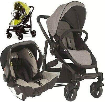 Graco Evo Travel System With Isofix Base And Carseat • 50£