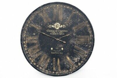£74.99 • Buy Vintage Distressed Style Iron Wall Clock
