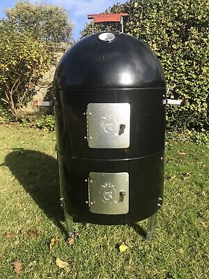 Smoker Bbq Used With Cover /used Twice • 78£