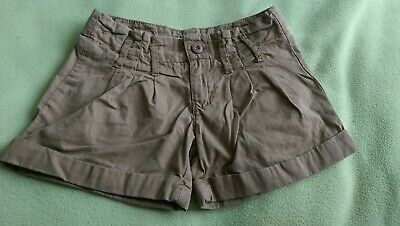 BlueZoo Girls Summer Shorts Brown Size 3-4 Years  • 1.30£