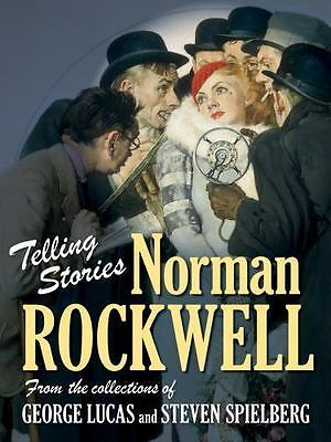 $ CDN14.30 • Buy Telling Stories: Norman Rockwell From The Collections Of George Lucas And Steven