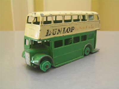 $ CDN43.40 • Buy Dinky Toys 290 Double Decker Bus 'Dunlop Tires' With Green Plastic Hubs Rare