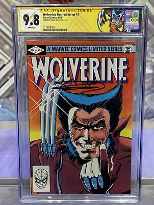 Wolverine Limited Series #1 CGC 9.8 Signed By Frank Miller Armenia Charity Fund • 483.76£