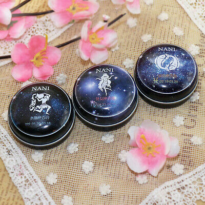 Solid Perfume Portable 12 Signs Women Men Deodorant Non-alcoholic Charm Balm • 2.49£
