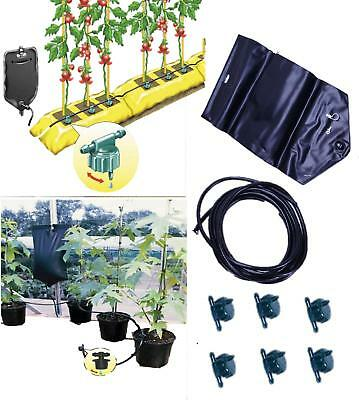 Plant Instant Drip Irrigation Watering System Gravity Greenhouse Home Full Kit  • 11.99£