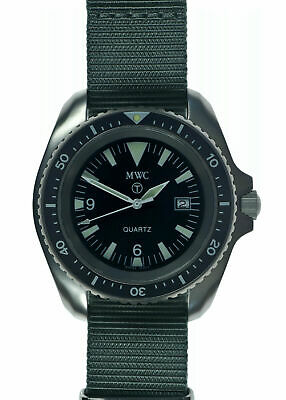$ CDN241.42 • Buy Rare MWC Military Divers Watch 1000ft Water Resistant Rare 1999-2001 Pattern