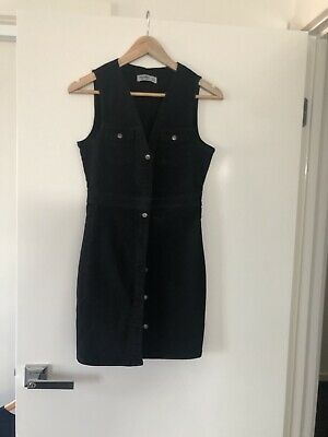 AU9.75 • Buy Pull And Bear Womens Buttoned Dress Size M Sleeveless