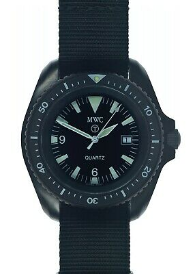 $ CDN251.26 • Buy Rare MWC PVD Military Divers Watch 1000ft Water Resistant Rare 1999-2001 Pattern