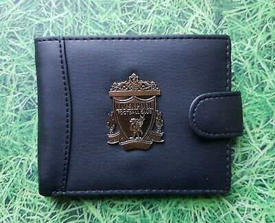 Wal109) Liverpool Football Faux Leather Wallet Brand New  • 5.95£