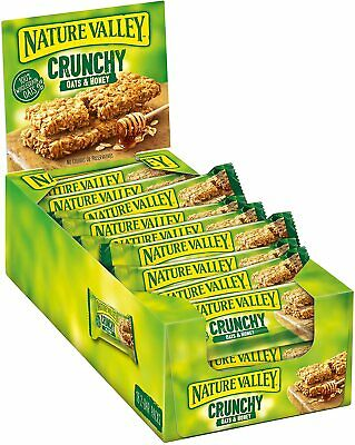 £11.95 • Buy Nature Valley Crunchy Oats & Honey Cereal Bars 42g (Pack Of 18)