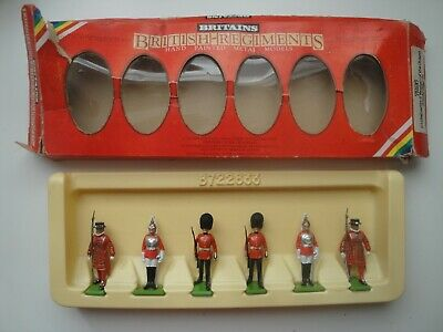 1982 Britains Toy Soldiers Set 7226. Yeoman Of The Guard, Scots & Lifeguards • 9.99£